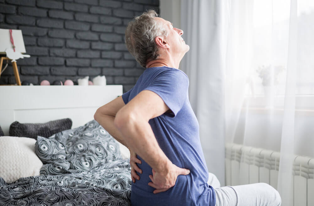 lower back pain..